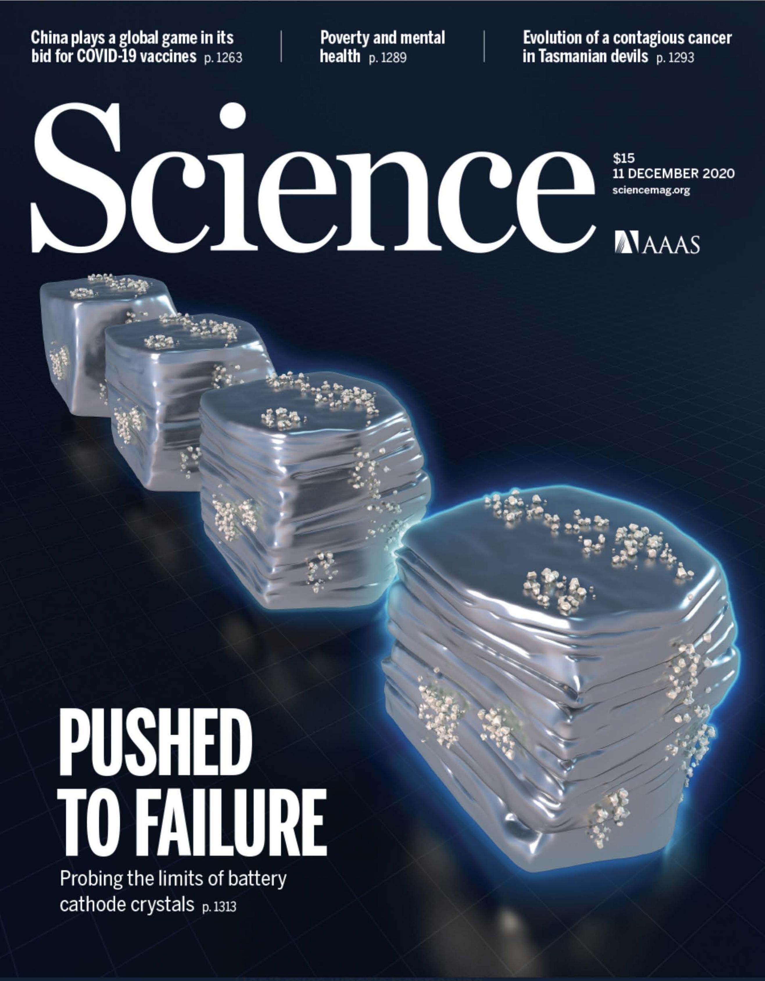 科学 Science 2020年12月11日 高清英语原版 PDF