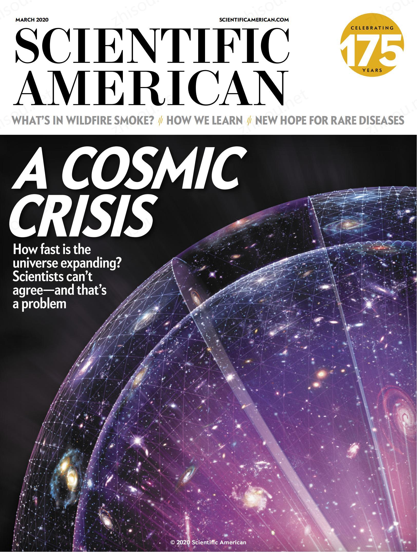 科学美国人 Scientific American 2021年3月 高清英语原版 PDF电子版